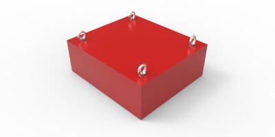 Permanent magnetic block SVM-F-946x343-0840-F-F0E