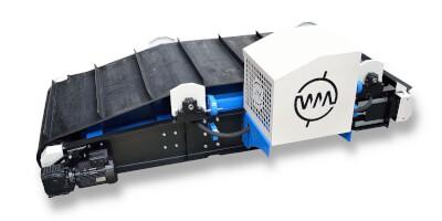 Elektromagnetický separátor s overboostem - ochrana drtičů uhlí.