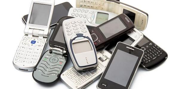 Nepotřebné mobilní telefony-odpad zdrojem