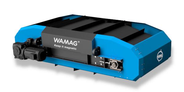Сверх-сильный подвесной сепаратор на постоянных магнитах