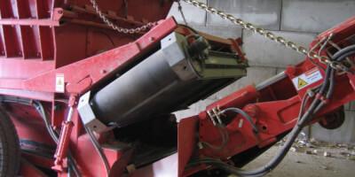 Závěsný magnetický separátor permanentní pro mobilní zařízení