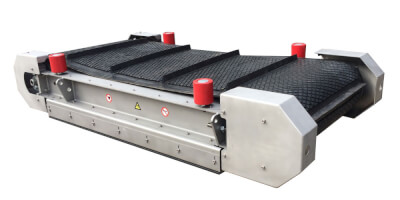 Závěsný magnetický separátor
