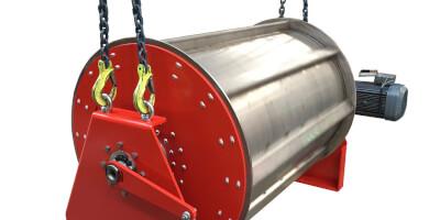 Bubnový magnetický separátor