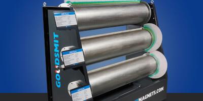 Bubnový magnetický separátor - typy 3000, 6000, 9000 gauss