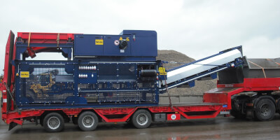 Mobile version of Eddy Current separator