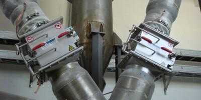 Rotační tyčové separátory s ručním čištěním