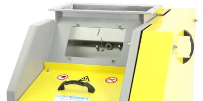 Kaskádový magnetický separátor - automatické čištění - detail