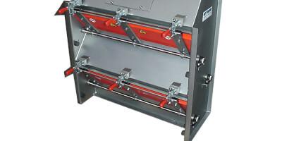 Kaskádový magnetický separátor  s ručním čistěním