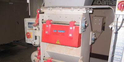 Kaskádový magnetický separátor - provoz