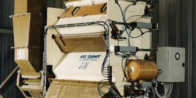 Kaskádový magnetický separátor - provoz - krmivo pro dobytek