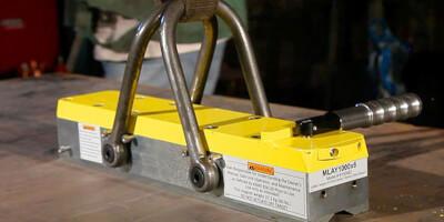 Manuální břemenové magnety pro ploché a kulaté předměty