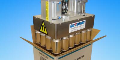 Paletizační magnet - balení do krabic