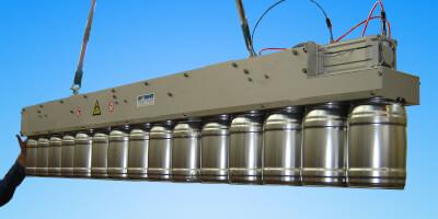 Paletizační magnet - plechovky