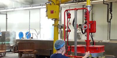Paletizační magnet - sklenice s kovovým víčkem