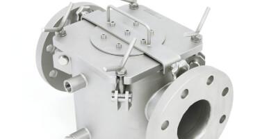 Двухстенный магнитный фильтр - для жидких продуктов