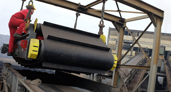 Installation of a Metal Detector and Electromagnetic Separator – Brown Coal Power Plant