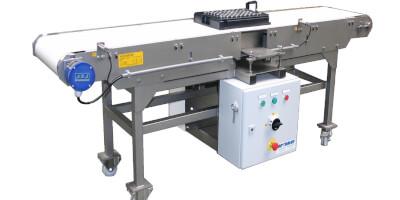 Demagnetizační stůl - automatizovaný provoz
