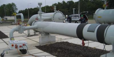 Реазмагничивание трубопровода