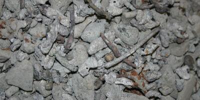 Recyklace strusky ze spalovny odpadů