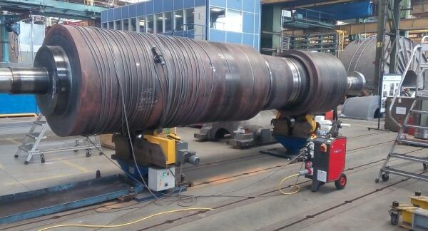 Demagnetisation of Turbine Rotor